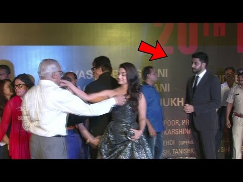Aishwarya Rai IGNORES Hubby Abhishek Bachchan @ Sarbjit Special Screening