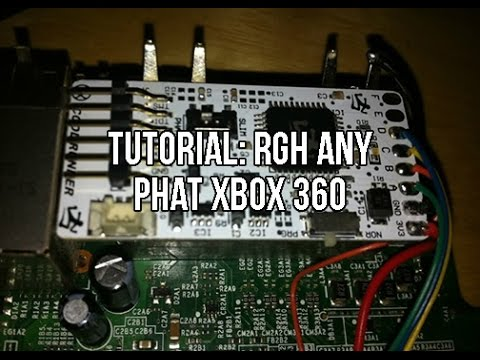 Tutorial How To RGH Any Phat Xbox 360 On Current Dash Reset Glitch Hack May 2013