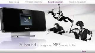 Philips Streamium Network Music Player with FullSound