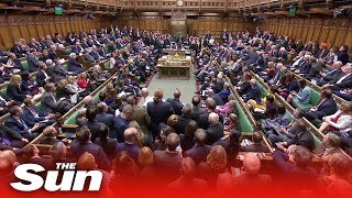 Parliament's final day before prorogation