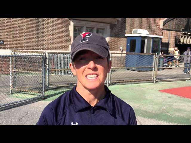 Penn assistant women's coach Kerri Whitaker