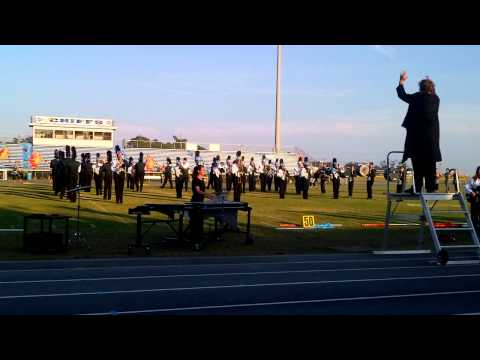 West Brunswick High School Marching Band Competition 2012
