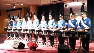 Little Drummer Boy Kingsguard Snare Drumline First Performance 12 15 13