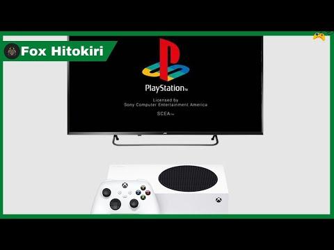XBOX SERIES X/S e XBOX ONE rodam jogos de PS1 através de emulador