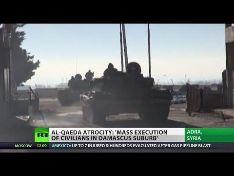 Militants' Massacre: Syrian rebels execute civilians as govt forces close in