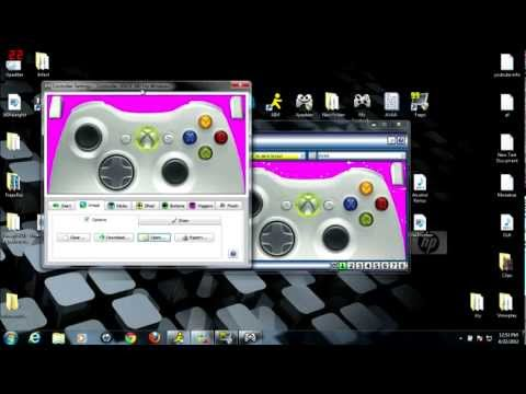 How to play with Xbox 360 controller on pc [Xpadder] u can use any controller!!