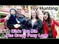 TOY HUNTING with Bin's Toy Bin & The Crazy Pony Lady - Play-Doh, Monster High, SickBricks