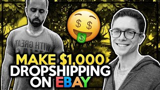 Make Your First $1,000 Dropshipping on ebay ( A Complete, Step-by Step Tutorial )