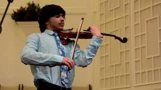 Prokofiev Violin Concerto No.1, Op.19, III. Moderato. Allegro moderato