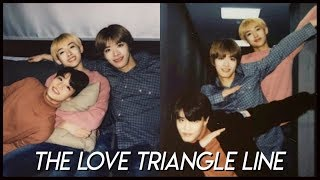 "nct's ""love triangle"" line"