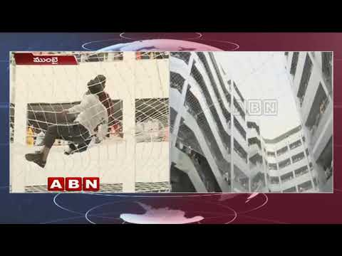 Man climbs on Mantralaya safety net, held | ABN Telugu