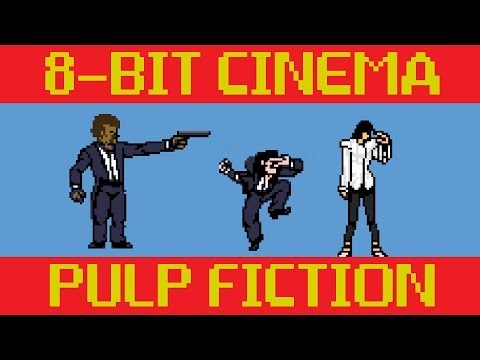 Pulp Fiction - 8 Bit Cinema