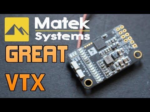 SIMPLE. SMART. EASY. CHEAP!! Matek VTX 5.8 Tech Tuesdays UAVFUTURES