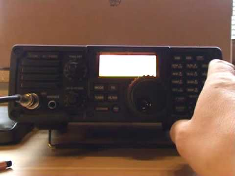ICOM IC-7200 DX Contest Filter Demo