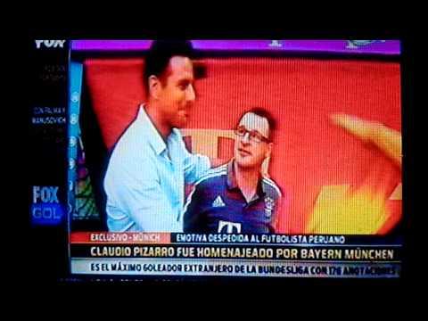 Fox Sports: El adiós de Claudio Pizarro del Bayern Munich