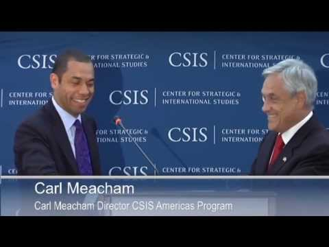 Statesmen's Forum: His Excellency Sebastián Piñera, President of the Republic of Chile