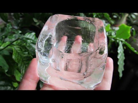 Очистка воды методом заморозки. Вода для кристаллов.