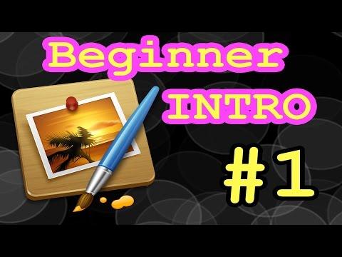PIXELMATOR 3.3 -  BEGINNER INTRO - PART 1