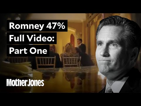Full Mitt Romney Fundraiser Video Part One (36:39)