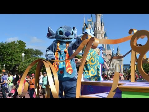 Move It, Shake It, Dance and Play It - NEW Street Party Parade at The Magic Kingdom - Procession