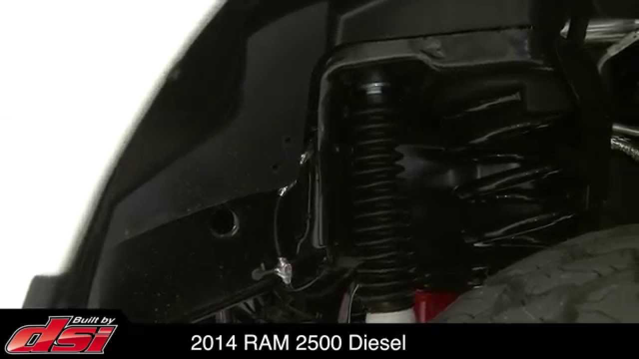 RAM 2500 HD Lifted by DSI