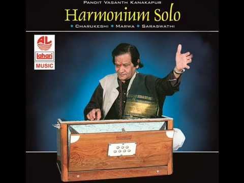 Raag Ssraswathi - Harmonium Solo by Pandit Vasanth Kanakapur...
