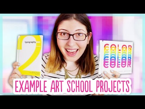 All of My RISD Projects! - Example Graphic Design Work from Art School