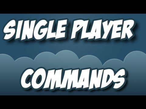 Minecraft - Modyfikacje #1: Single Player Commands 1.2.3
