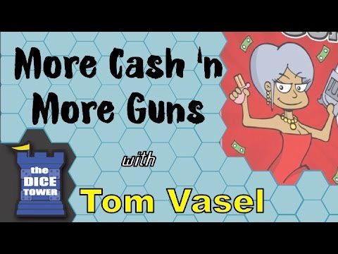 More Cash n' More Guns Review - with Tom Vasel