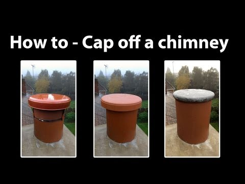 Chimney Capping How To Cap Off A Chimney And Seal Youtube