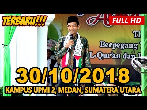 Ceramah Terbaru Ustadz Abdul Somad Lc, MA - Kampus 2 UPMI Medan