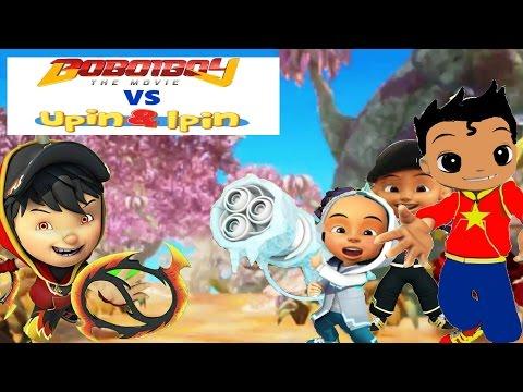 BoBoiBoy vs Upin & Ipin | Boboiboy Keren!