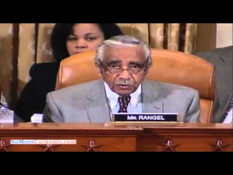 Tax Cheat Charlie Rangel outraged over IRS scandal about targeting Conservatives