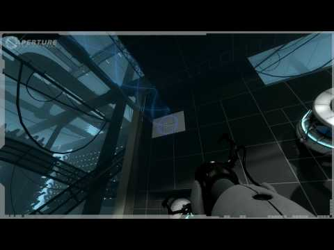 Portal 2 Footage from Gamescom -- Repulsion Gel