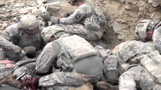 First Hand Look at Taliban Ambush