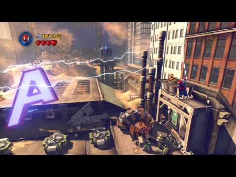 LEGO Marvel Super Heroes - Demo Gameplay Walkthrough HD (Xbox 360)