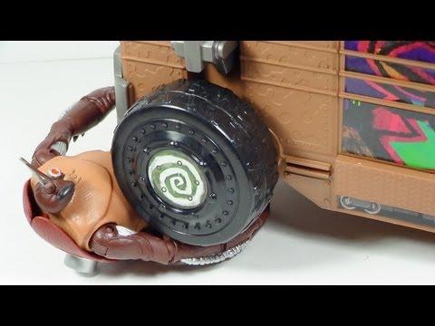 TMNT Cockroach Terminator 2012 Nickelodeon Cartoon Figure Review