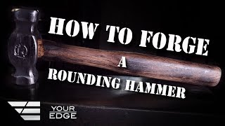How to Forge a Blacksmithing Hammer - Paul Beisler