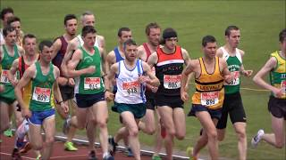 2017 Munster T & F Championships Men's 5000m...Video by Jerry Walsh