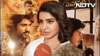 Pics Of Keerthy Are Shocking, She Was Meant To Be Savitri: Samantha Ruth Prabhu
