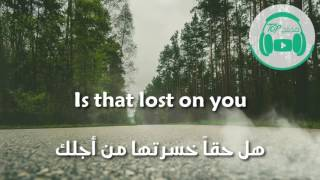 lp - lost on you مترجمة عربي