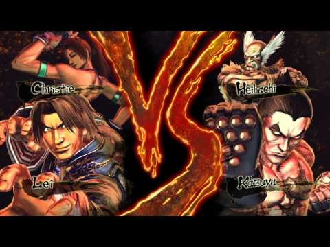 Street Fighter X Tekken New Characters (Novos Personagens)
