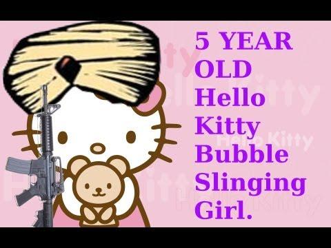 5 YR Old Girl Declared TERRORIST Over Hello Kitty Bubble Gun @ Pennsylvania Elementary School!