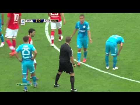 Зенит - Спартак. ЧР-2012/13  (5-0)