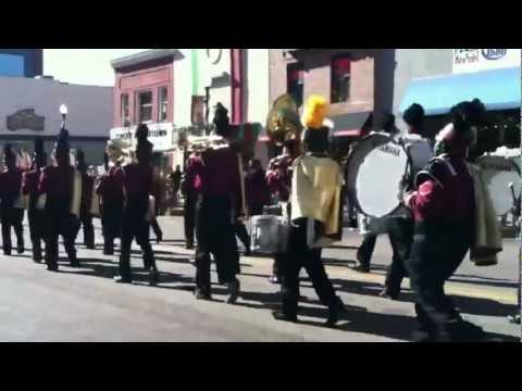 Sierra High School Marching Band @ Veterans Day Parade 2012