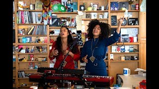 "Ibeyi - NPR Music Tiny Desk Concertにて""Deathless""など4曲を披露 映像を公開 thm Music info Clip"