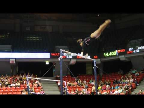 Lexie Priessman - Uneven Bars - 2012 Secret U.S. Classic