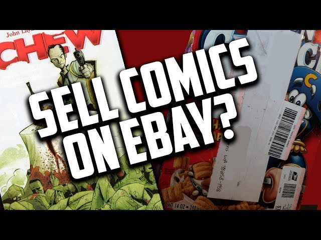 Selling Comic Books on eBay - x3 Most Important eBay Selling Tips