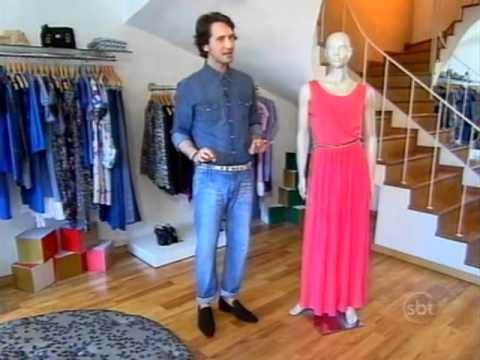 Tenha Estilo - Aprenda a usar vestidos longos