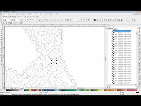 CorelDRAW - Rhinestone Stone Grafting Technique